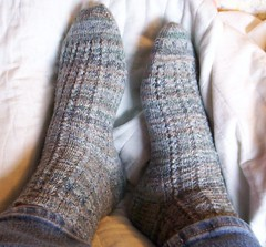 simply lovely lace socks 1