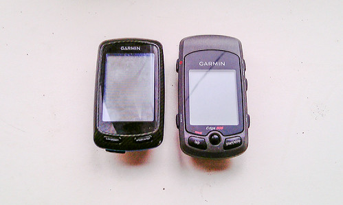 Garmin Edge 800 vs Garmin Edge 605