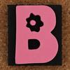 Foam Stamp Letter B