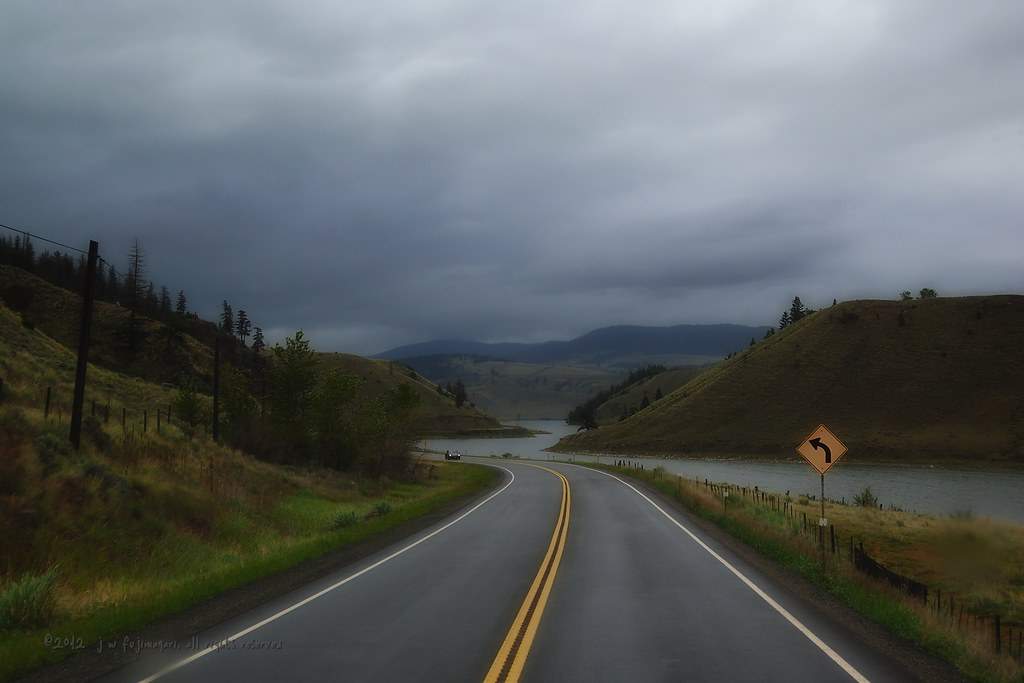The Road To Stump Lake