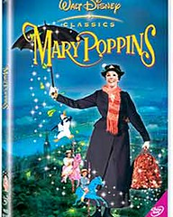 Mary Poppins DVD case