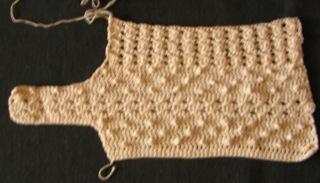 Crochet top from June 1989 Magic Crochet