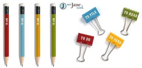 See Jane Work (it out!) With Contemporary Office Products
