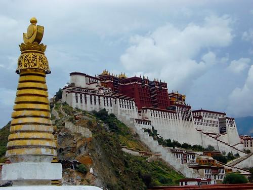 Tibet - Lhasa Potalla 2