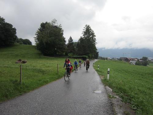 Radeln auf dem Eschner-Berg