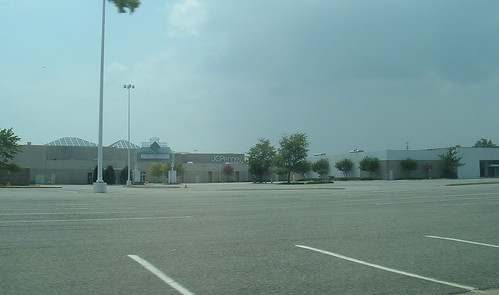 Coliseum Mall The Side That Is Fenced Off