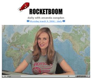 Amanda Congdon, ex presentadora de Rocketboom