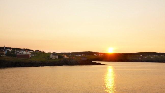 Elliston at sunset