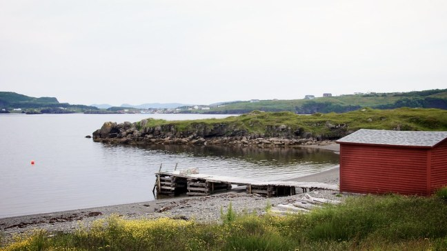 Typical fishing village in Newfoundland