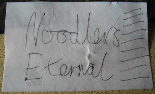 Noodler's Ink Stress Test - After