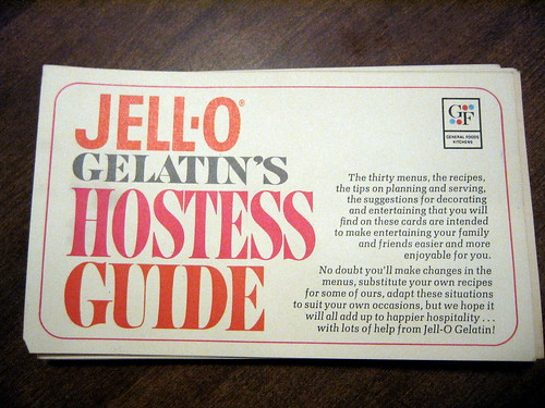JELL-O hostess guide