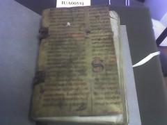 Manuscript bound book