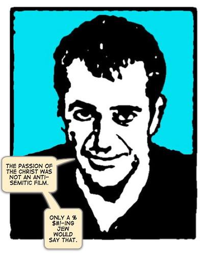 Mel Gibson, cartoon