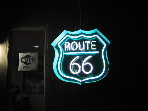 Route 66 WiFi zone