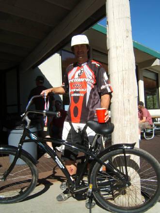 Jon Wilson Sky Tavern Race Winner