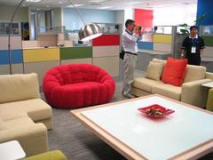 구글 베이징 사무소 내부사진
