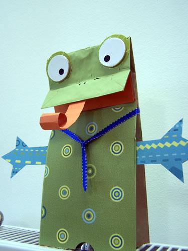 Paperbagfrog