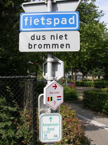 Het Bels Lijntje, in Nederland