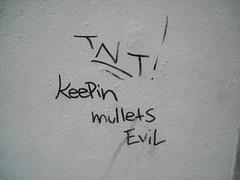detail - keepin mullets evil