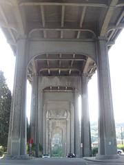 Under the 99 bridge
