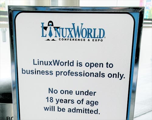 LinuxWorld 2006: For adults only