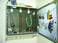 Inside of Cabinet after