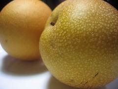 Asian pear cake