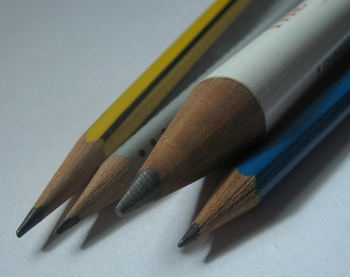 1953 Coronation Pencil - With Other Pencils - Points
