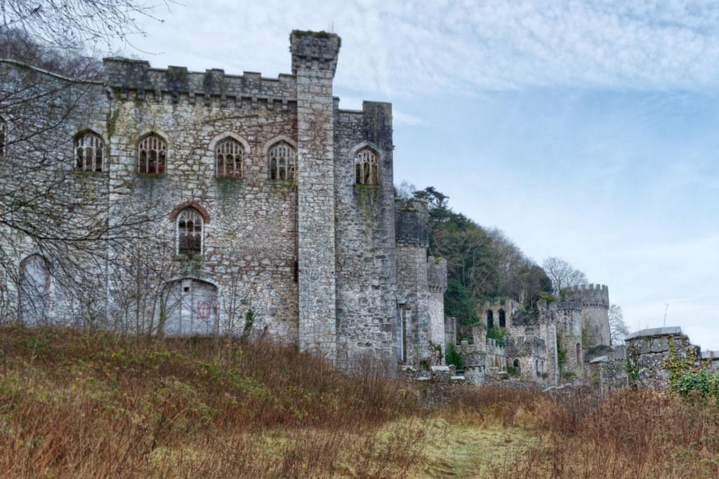 Gwrych Castle Ruins