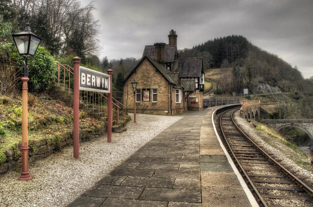 Berwyn Railway Station