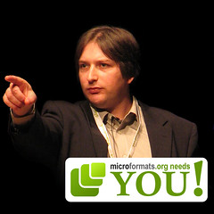 Microformats needs you says jeremy keith