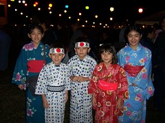 Chicos con Yukata