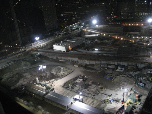 Ground Zero by night