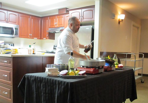 Meridian Plaza Cooking Demo