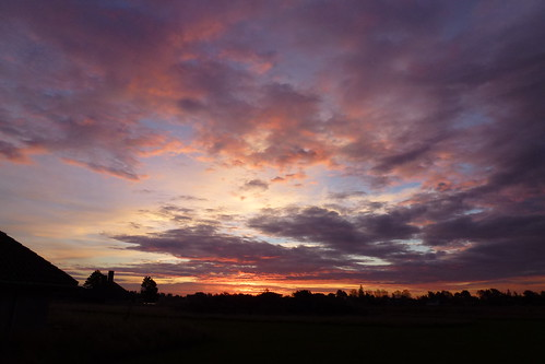 Solopgang på Enø