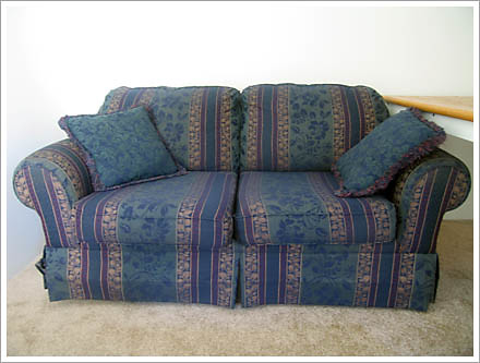 the new couch