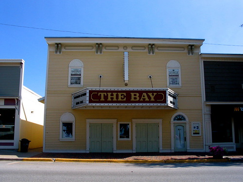 The Bay Theatre in Suttons Bay by John Levanen