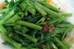 vegetables- 燙空心菜