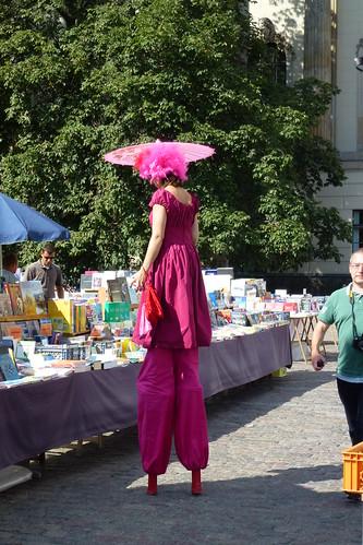 På stylter i Berlin