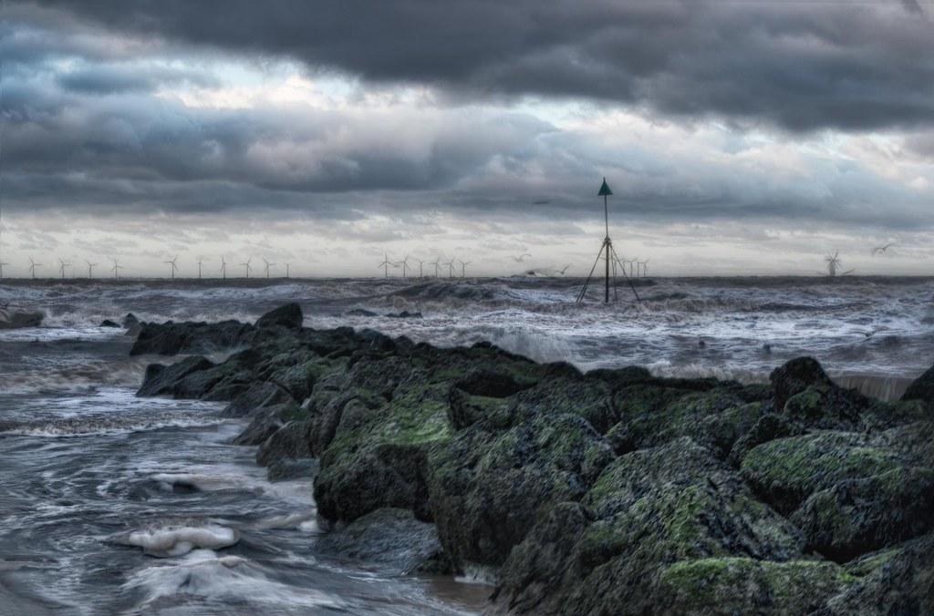 Sea Defences - Storm