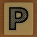 PAIRS IN PEARS Dotted Letter P