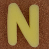 Sponge Letter N