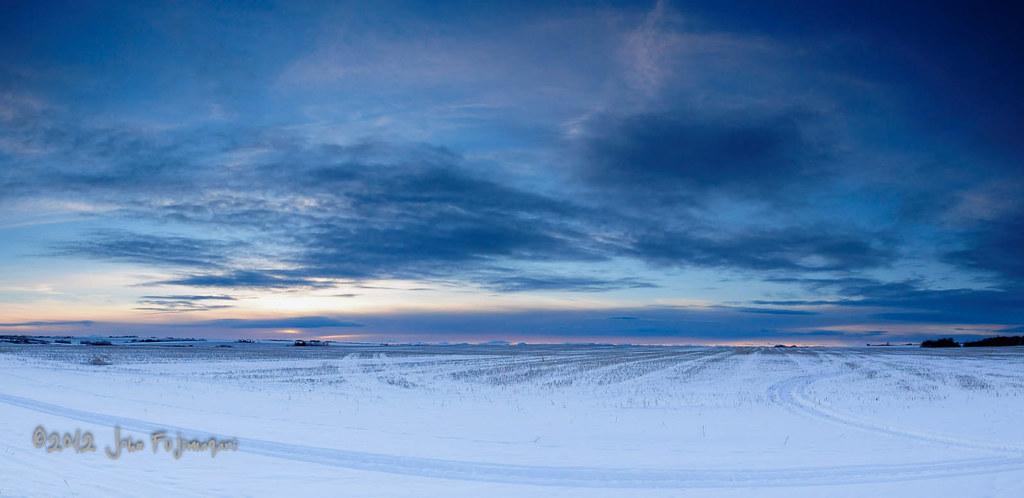 Prairie Winter Pano