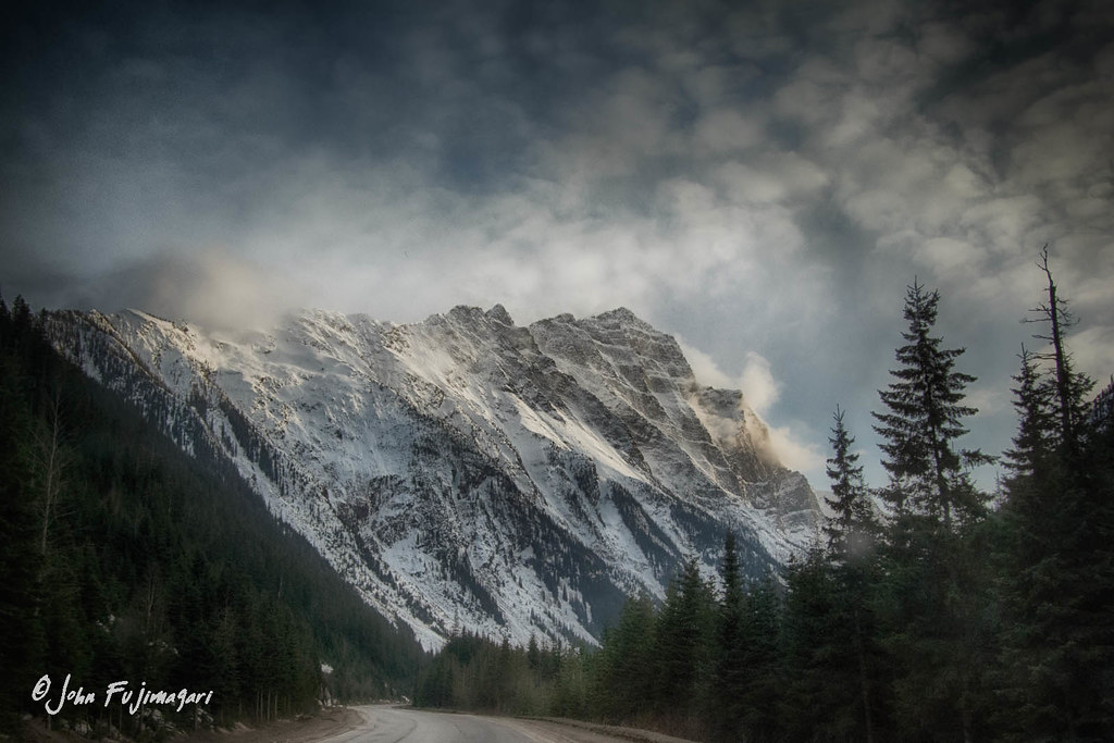 Road To Rogers Pass