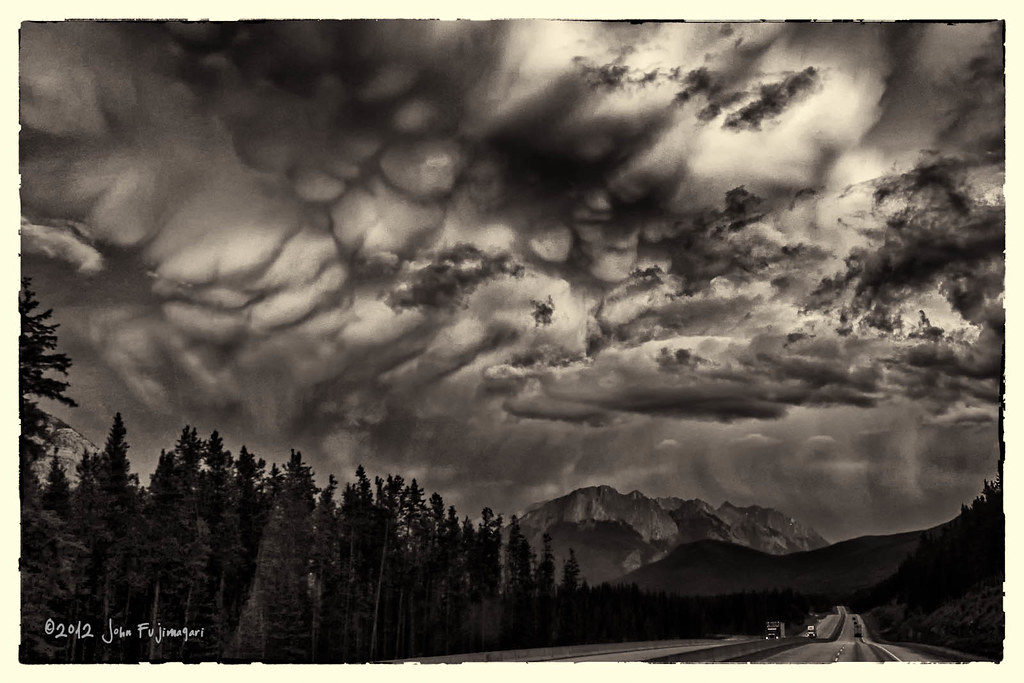 Stormy Banff