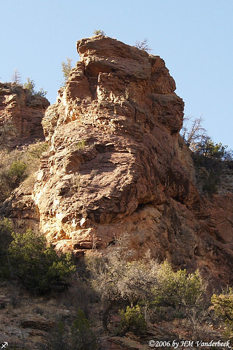 Monster Face Rock