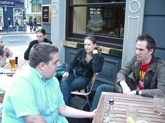 After BarCamp drink