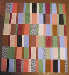 Lauren's quilt: top