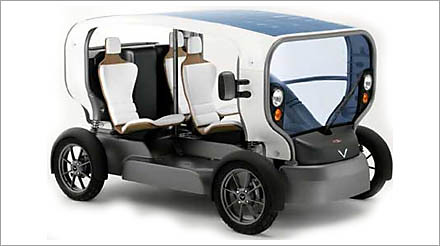 solar wind electric car
