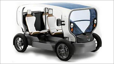 solar wind electric car